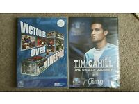 NEW SEALED DVDS. EVERTON VICTORIES OVER LIVERPOOL 2 DVD & TIM CAHILL THE UNSEEN JOURNEY.