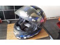 Viper Motorcycle Helmet MEDIUM