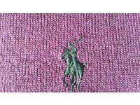 Ralph Lauren Polo Purple/Violet Merino Wool Jumper SMALL - NEW