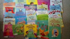 Learn to read with 30 Oxford reading tree snapdragon books. Level 1+to 5.