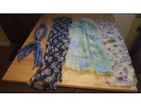 Bundle of gorgeous spring/summer scarves £1.50