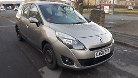2011 Renault Grand Scenic 1.5 DIESEL. 12 MONTHS MOT. ONLY 54,000 MILES. DRIVE AWAY