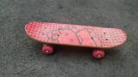 Hello kitty skate board