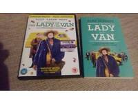 THE LADY IN THE VAN DVD AND BOOK.
