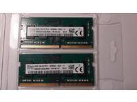 SK Hynix 8GB DDR4 3200mhz Laptop Memory 2x4gb high speed 2 sticks