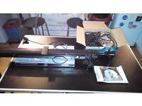 Slivercrest karaoke machine,,logik sound bar with remote and slivercres hdmi dvd player