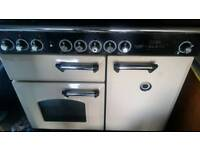 """""""ONLY2DAY""""FREE DELIVERY CERAMIC TOP DOUBLE RANGEMASTER CLASSIC DELUXE COOKER £349.99 ! """"ONLY2DAY"""""""