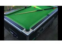Pool table 6ft slate bed