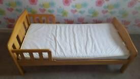 Tolder bed + matress