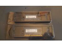 2gb x2 apple imac 27inch mid2011 DDR3 PC3-10600 1333MHz 204-pin SODIMM memory -£15