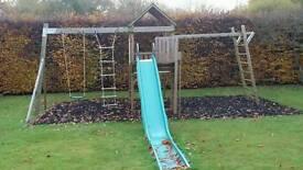 TP Kingswood climbing frame
