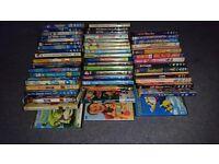 50 + Kids DVDS