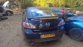 breaking a nice mazda 6 2009 plate diesel all parts available