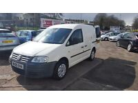 VW CADDY C20 1.9 TDI 55 plate DIESEL EURO 4 TOP CONDITION PERFECT RUNNER WARRANTY IS AVAILABLE.