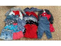 Baby girls clothes bundle (12-18 months)