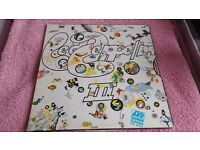 LED ZEPPELIN III - VINYL L.P- ATLANTIC RECORDS- VGC
