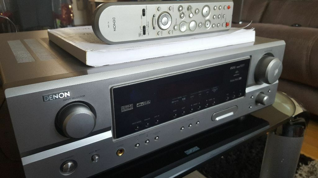Denon receiver avr 1507 manual