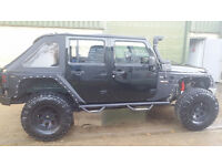 2012 Jeep Wrangler Unlimited (Left Hand Drive)