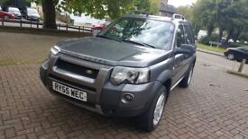 LEFT HAND DRIVE 2006 AUTOMATIC FREELANDER TD4 IN SOUTH EAST LONDON