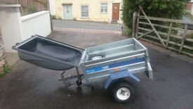 Easyline 105 Trailer, Good condition, used only a handful of times, comes with spare tire