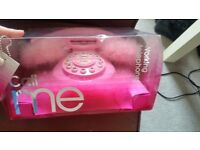 Pink Fluffy Phone (Good for joke present or children's toy)