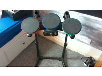 xbox drum hero stand and pads