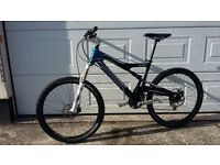 Cannondale Rush Carbon 4, MTB, Mountain Bike, frame medium, suit rider 5ft7–6ft, superb condition