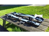2 x Thule 591 Pro Ride Cycle Carriers (Roof Mounted)