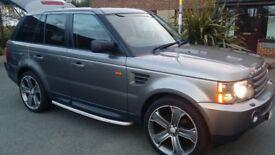 Bargain! Grey Range Rover Sport 2008