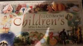 Children's CD stories,books,songs,rhymes