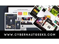 Websites, Logos, Flyers, Posters, Business cards at Affordable prices