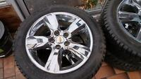 Tires and rims set of 4