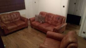 REDUCED! 3 piece DFS suite (3&2 seater sofas & armchair) / Can be sold separately