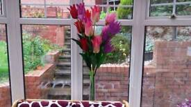 Reduced price flowers with a pot 2