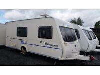 *2009* Bailey Ranger GT60 510/4 end washroom light weight great 4 berth caravan side dinette