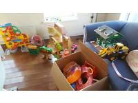 Selection of play houses for sale