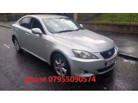 lexus is 220d turbo diesel 2007 57 plate metallic silver alloys
