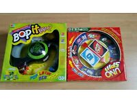 Bop it extreme and uno spin games