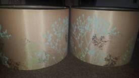 Lampshade x 2 (Matching)