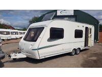 2005 Abbey Adventura - twin axle 6 berth - fixed bunks