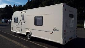 Bailey Olympus 504 4/5 berth with remote-controlled Motor Mover. No smoking, No pets