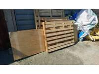 Free Rubble / Wood / Pallets