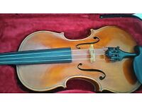 Welsh fiddle/Violin for sale - full size, excellent quality - £695 ono