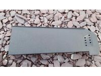 Russell Roofing Dry Verge System - Left end cap - Graphite Grey