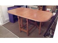 Drop Leaf Dining Table - Good Condition