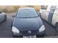 2006 Volkswagen Golf For Sale £2450.00