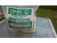 Woods shavings