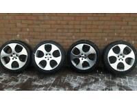 Audi vw gti monza alloy wheels 18 inch