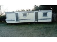 Two bed Mobile Home 10ft x 29ft. Clean & In reasonable condition.