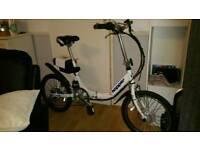 Hopper foldaway electric bike